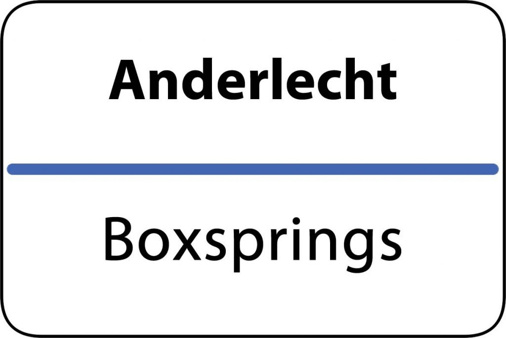 Boxsprings Anderlecht