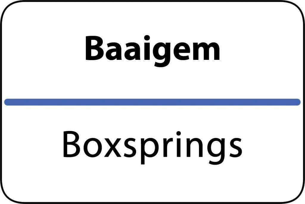Boxsprings Baaigem