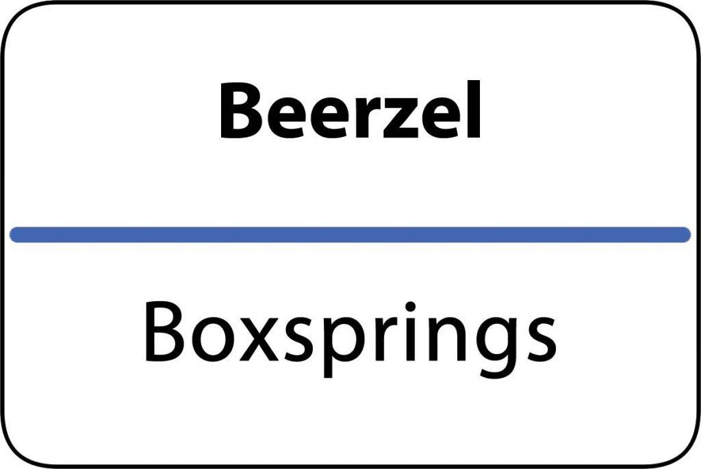 Boxsprings Beerzel
