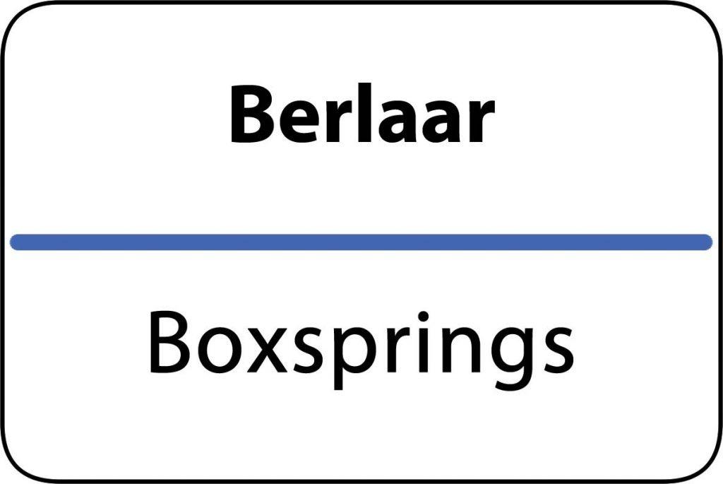 Boxsprings Berlaar
