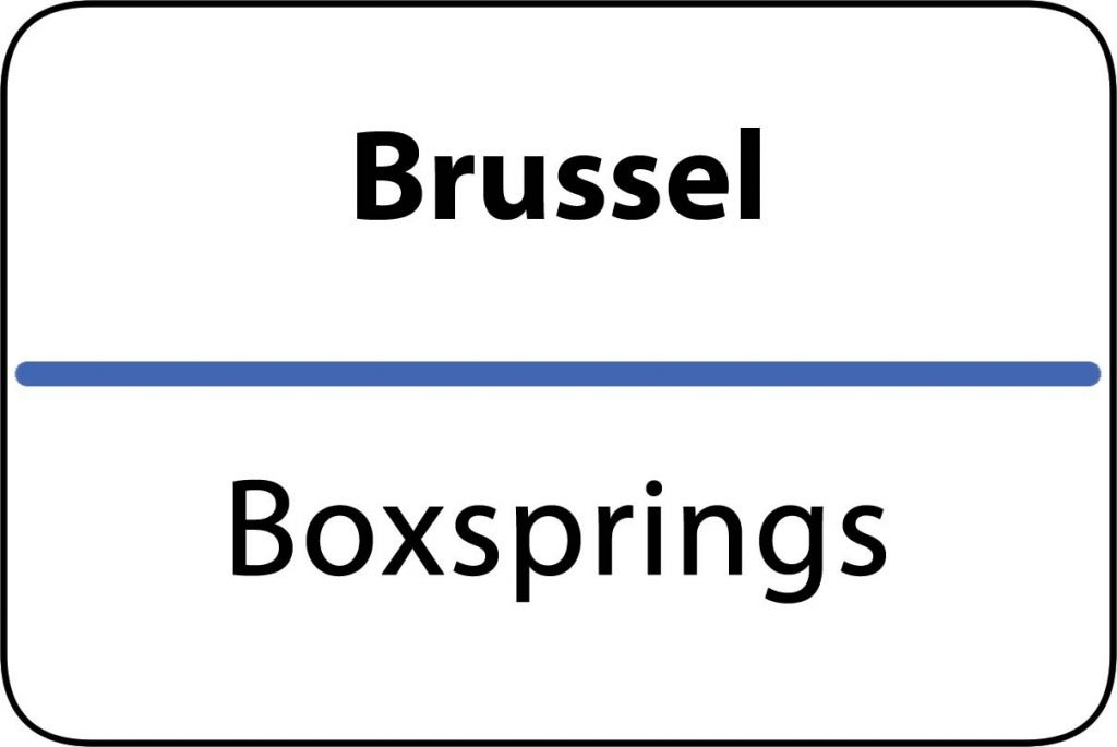 Boxsprings Brussel