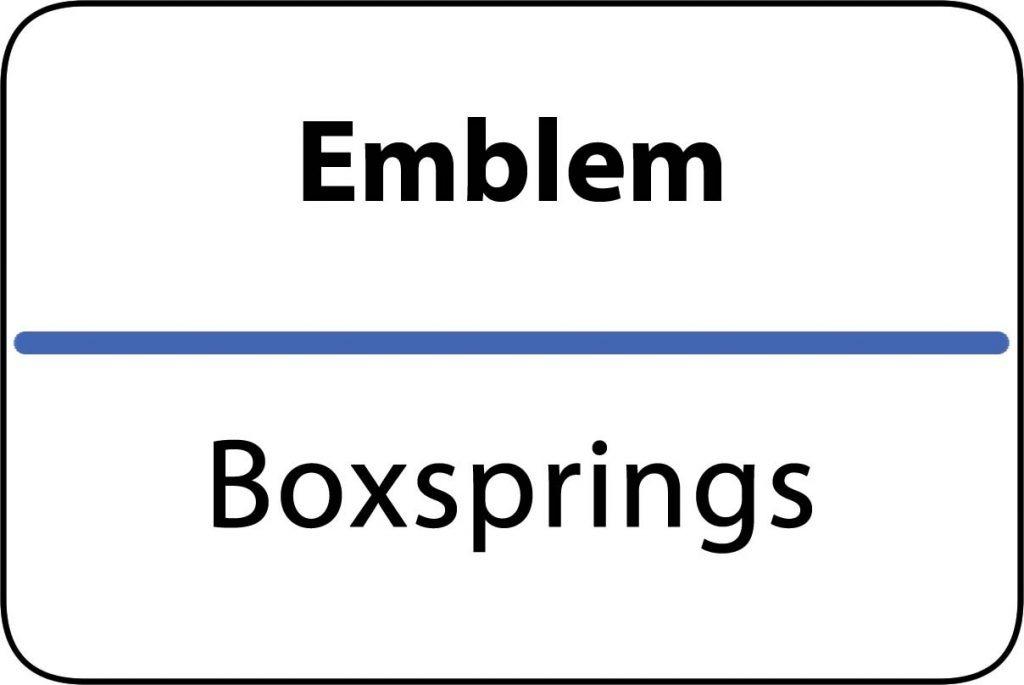 Boxsprings Emblem