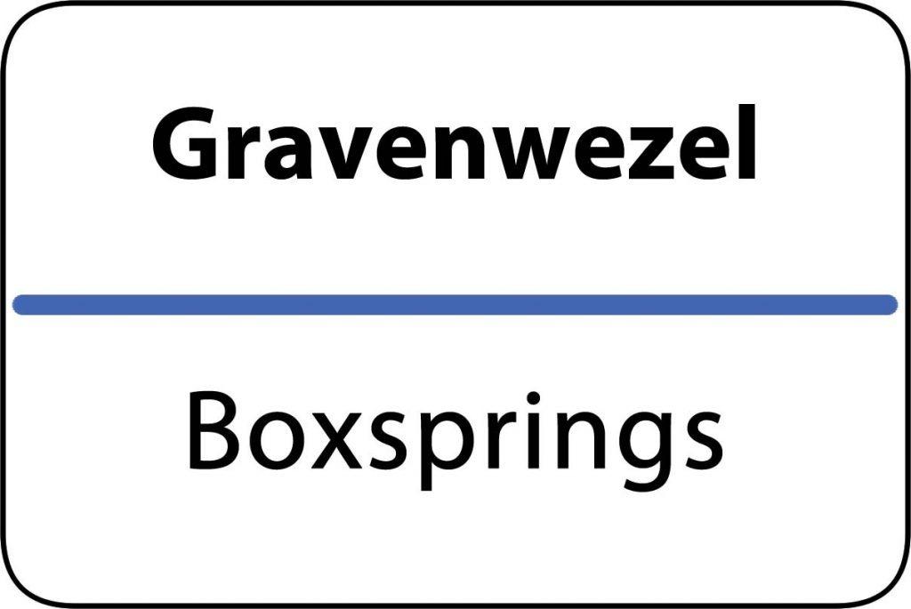 Boxsprings Gravenwezel