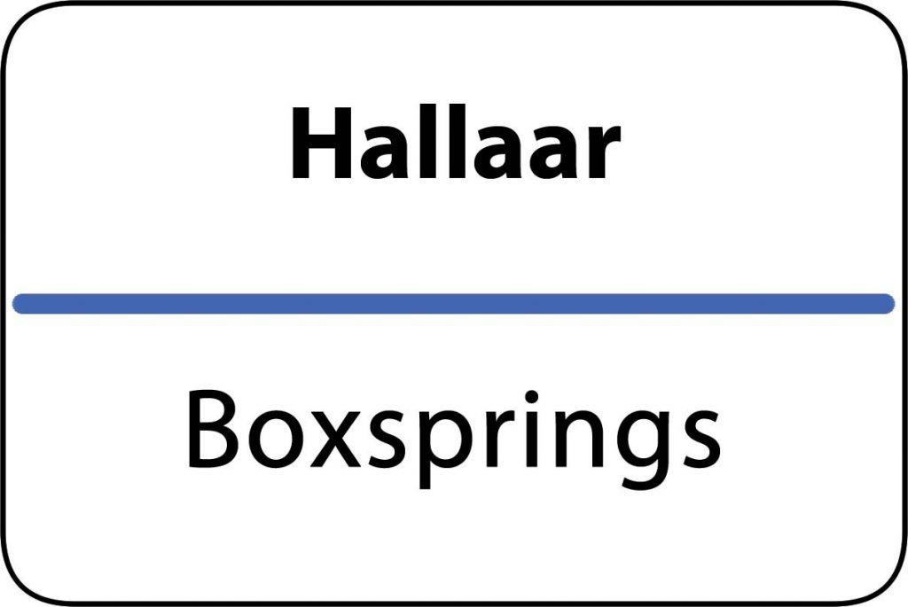 Boxsprings Hallaar