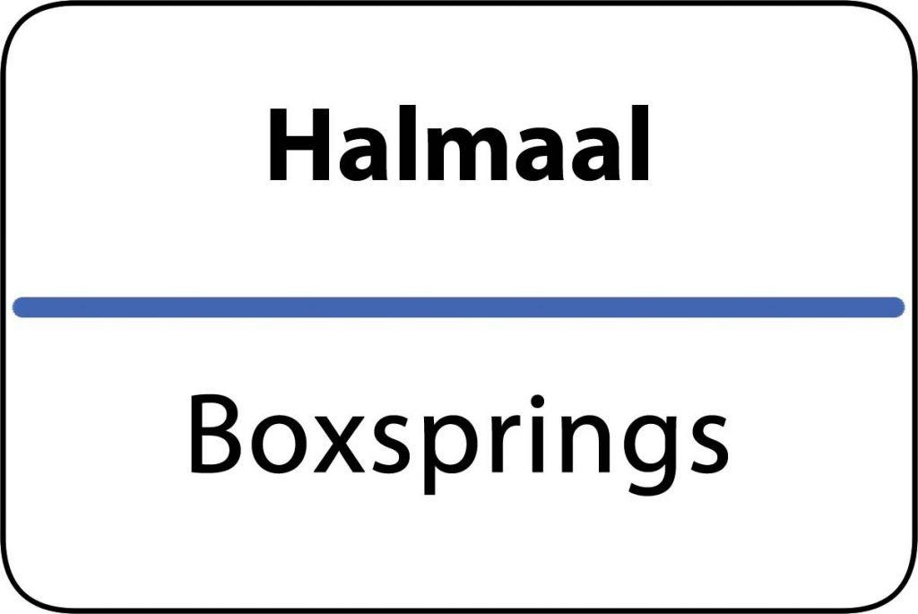 Boxsprings Halmaal