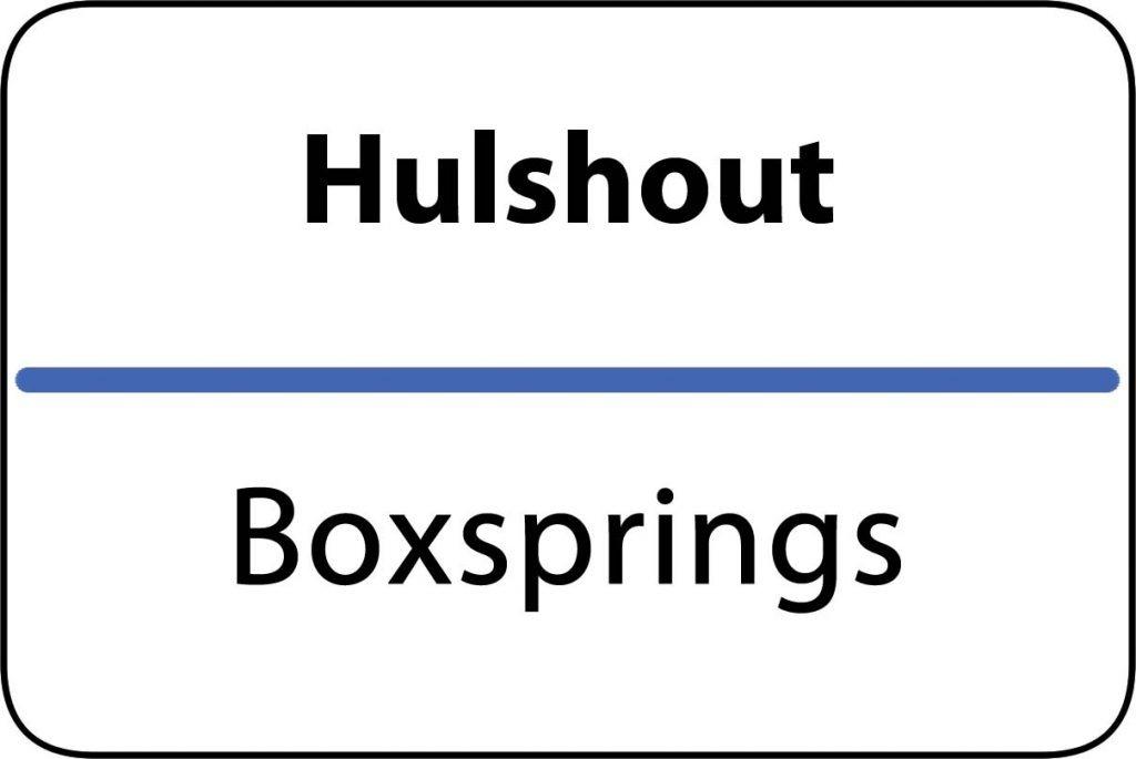Boxsprings Hulshout