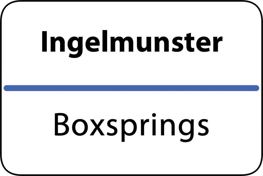 Boxsprings Ingelmunster