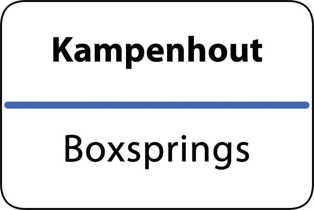 Boxsprings Kampenhout
