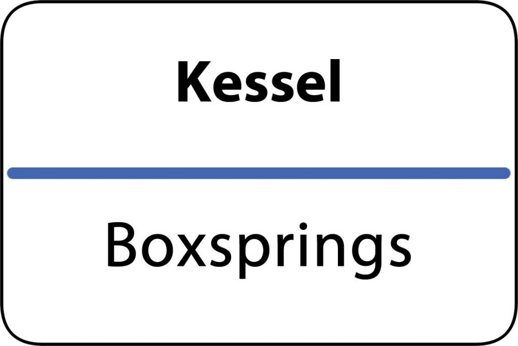 Boxsprings Kessel