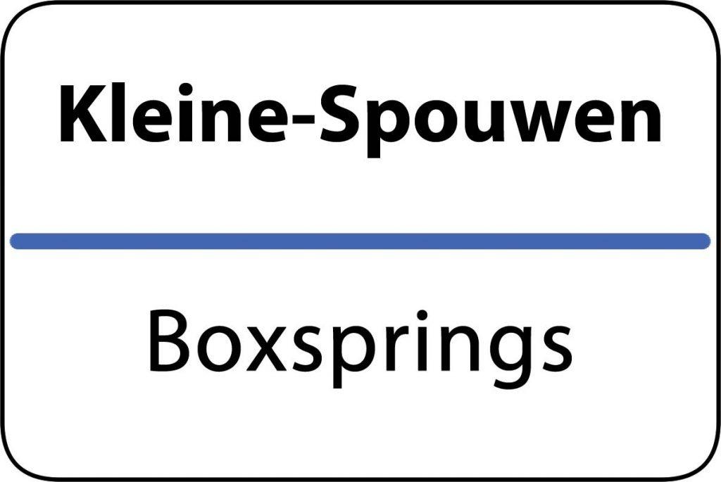 Boxsprings Kleine-Spouwen