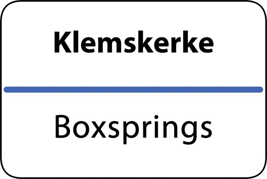 Boxsprings Klemskerke