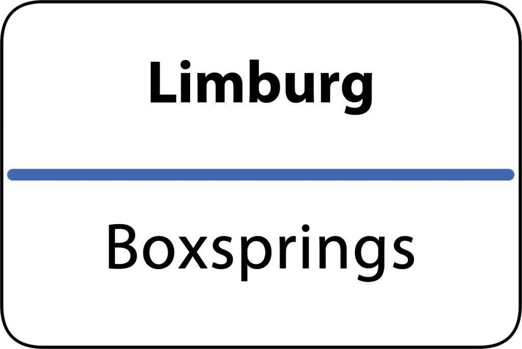 Boxsprings Limburg