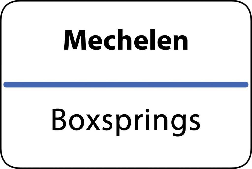 Boxsprings Mechelen