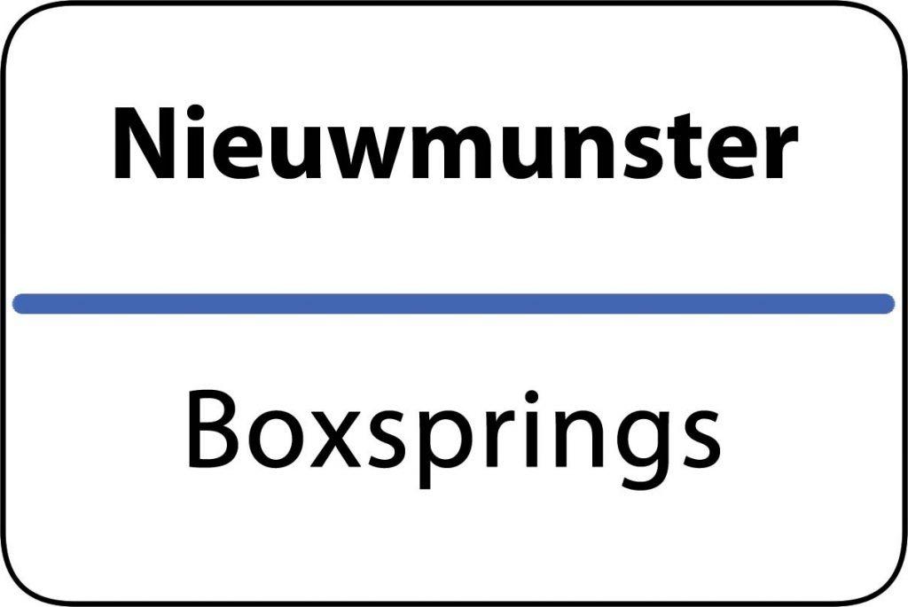 Boxsprings Nieuwmunster