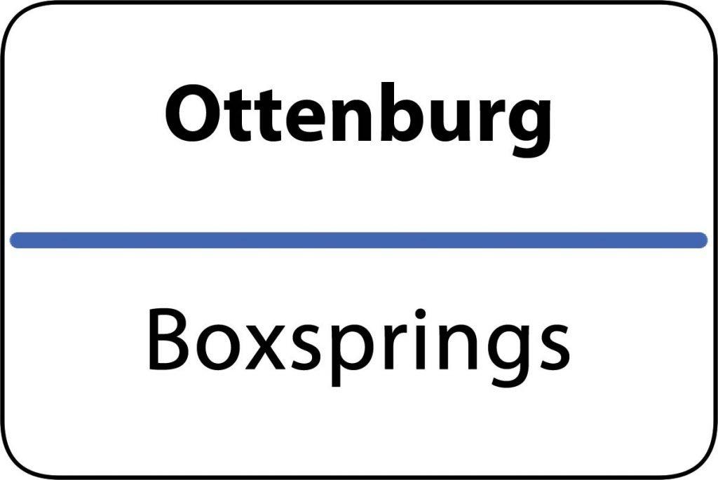Boxsprings Ottenburg