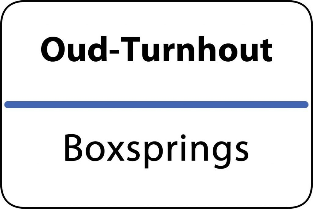 Boxsprings Oud-Turnhout
