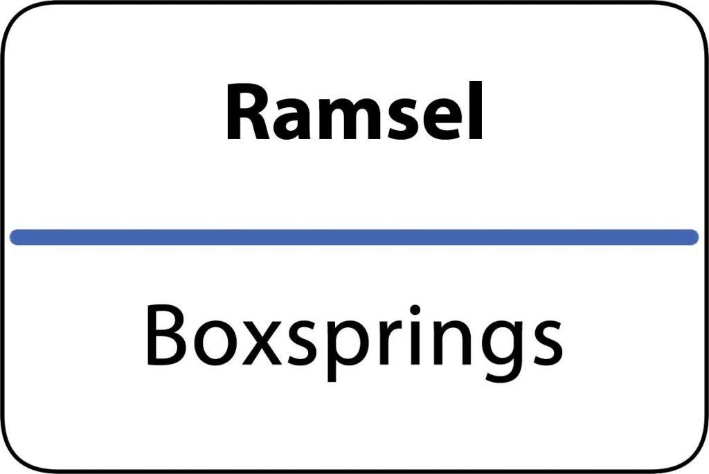 Boxsprings Ramsel