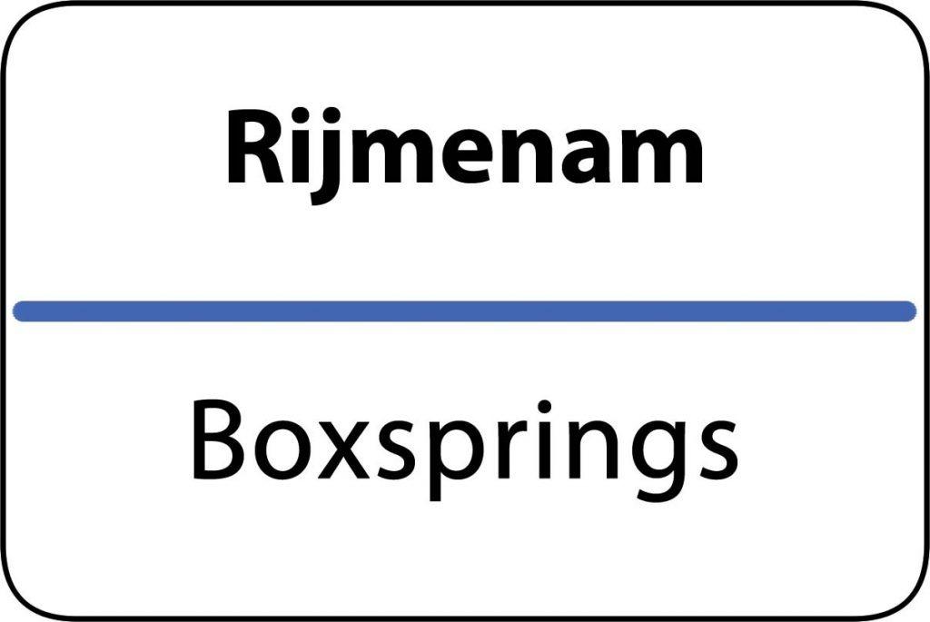 Boxsprings Rijmenam