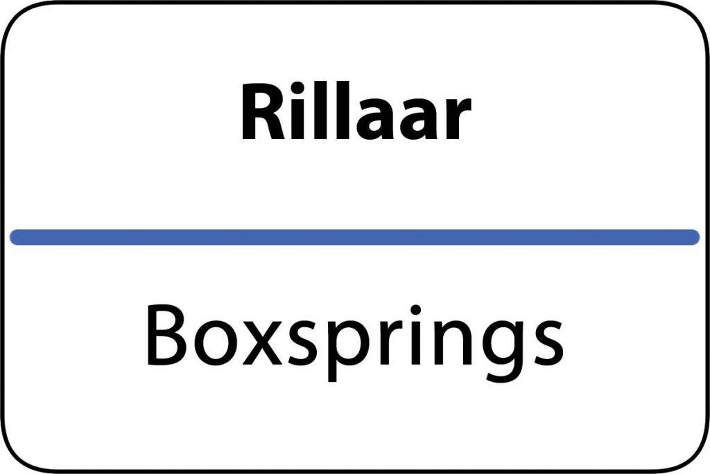 Boxsprings Rillaar