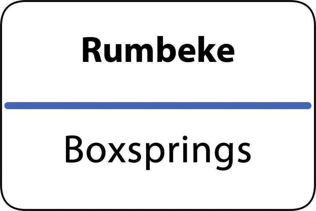 Boxsprings Rumbeke