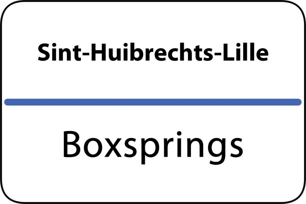 Boxsprings Sint-Huibrechts-Lille