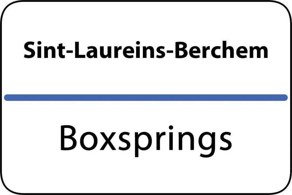 Boxsprings Sint-Laureins-Berchem