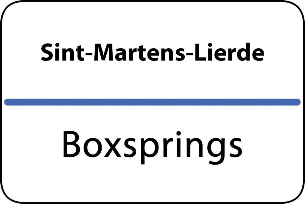 Boxsprings Sint-Martens-Lierde