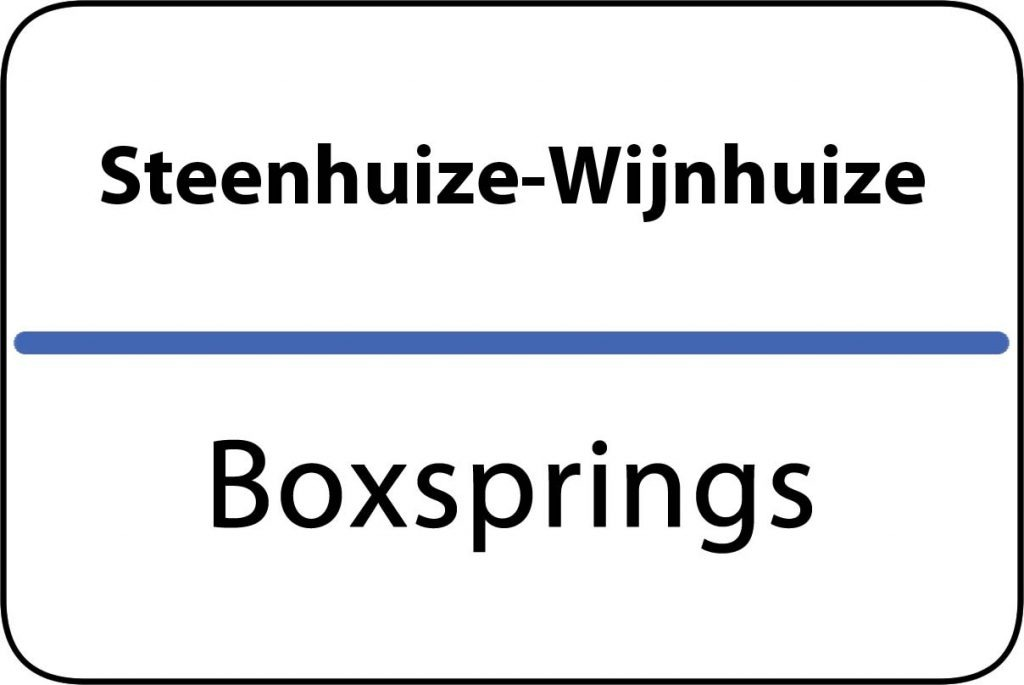 Boxsprings Steenhuize-Wijnhuize