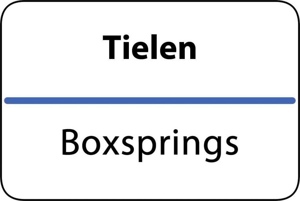 Boxsprings Tielen