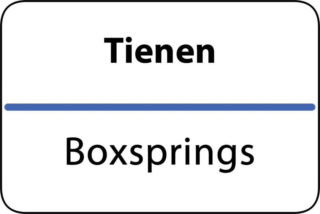 Boxsprings Tienen