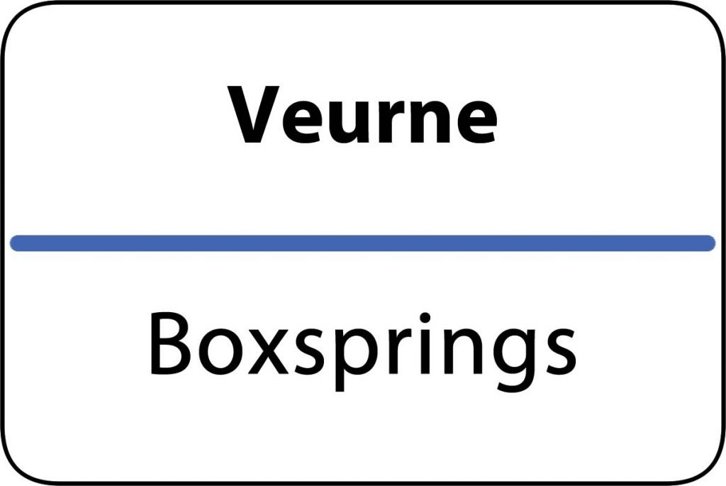 Boxsprings Veurne