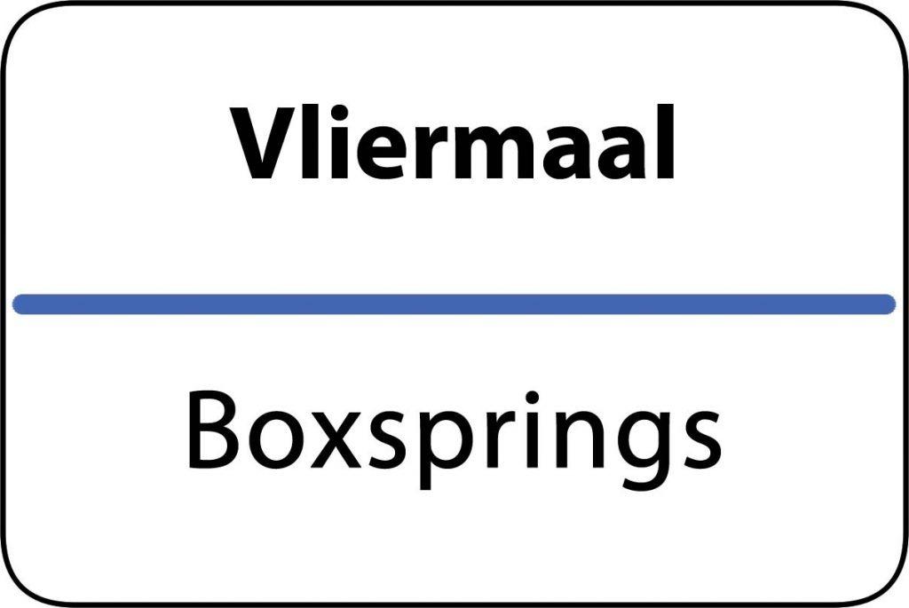 Boxsprings Vliermaal