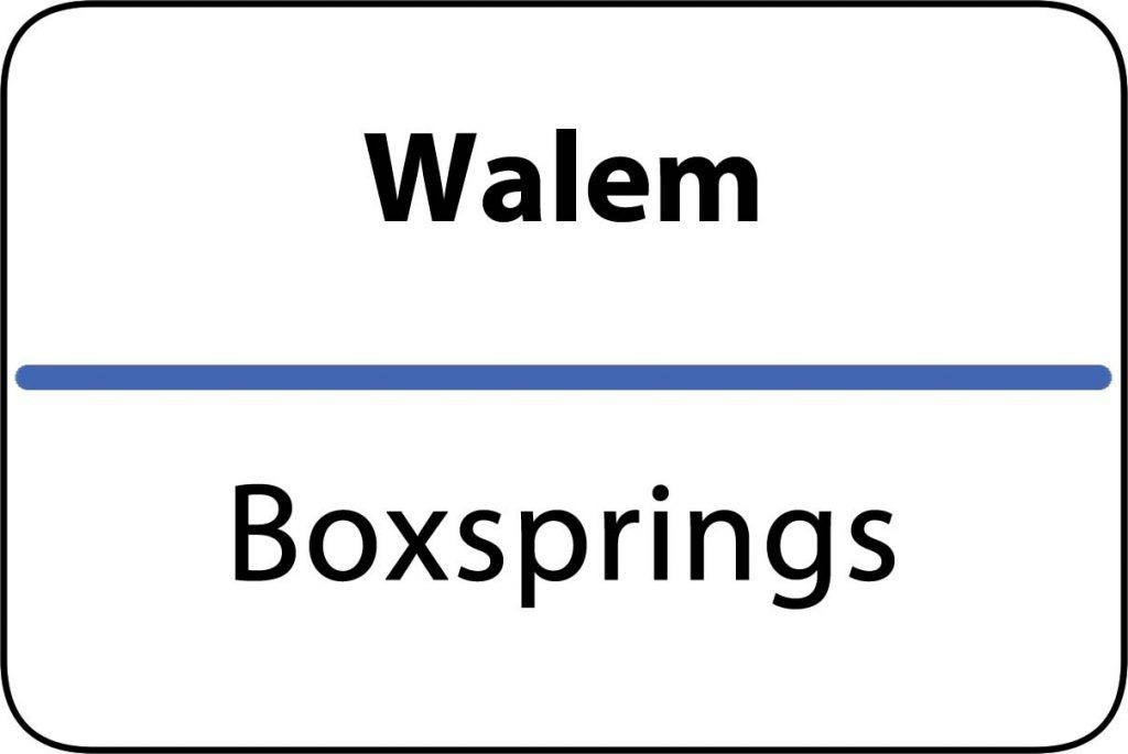 Boxsprings Walem