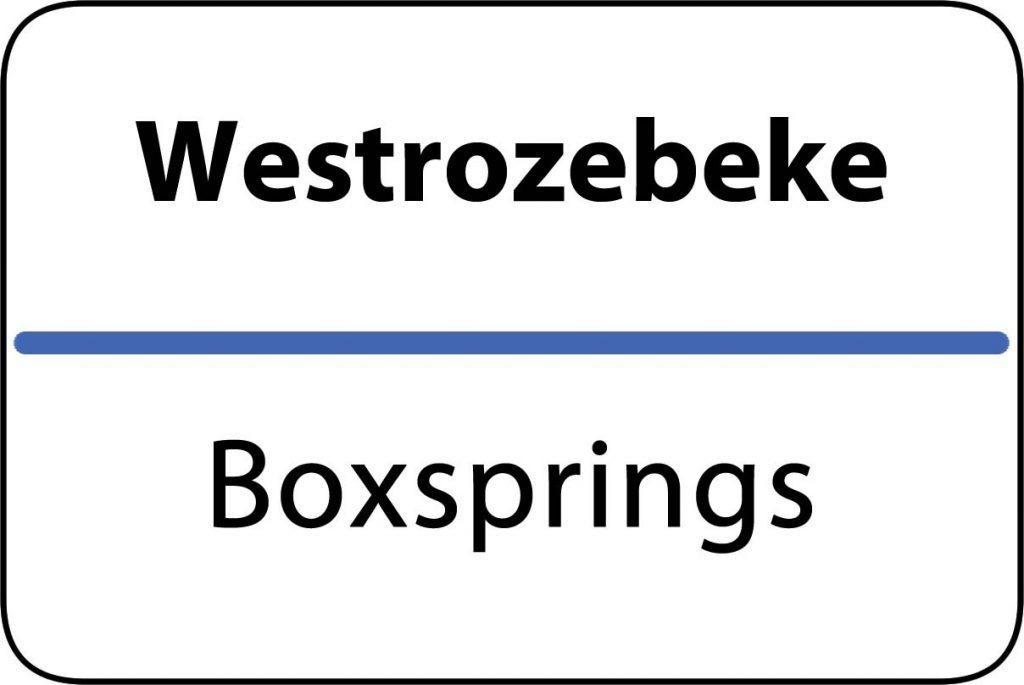 Boxsprings Westrozebeke