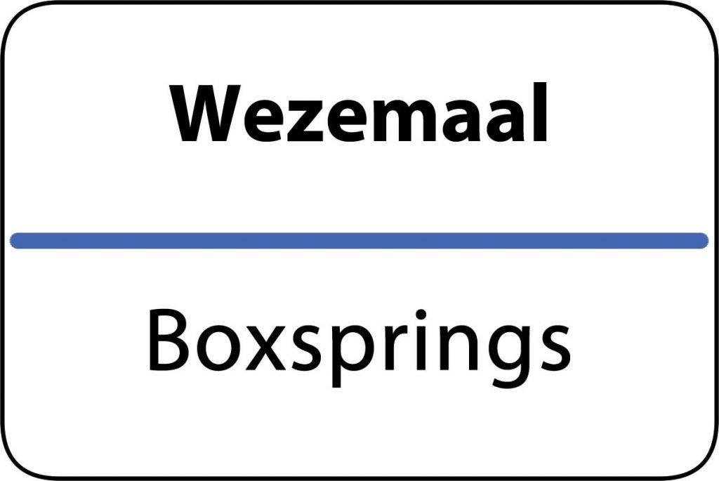Boxsprings Wezemaal