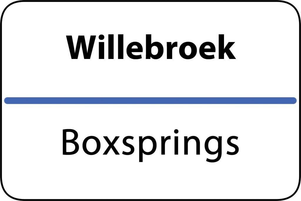Boxsprings Willebroek