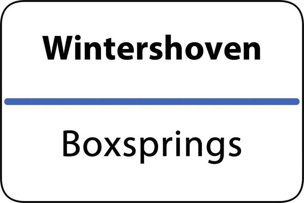 Boxsprings Wintershoven