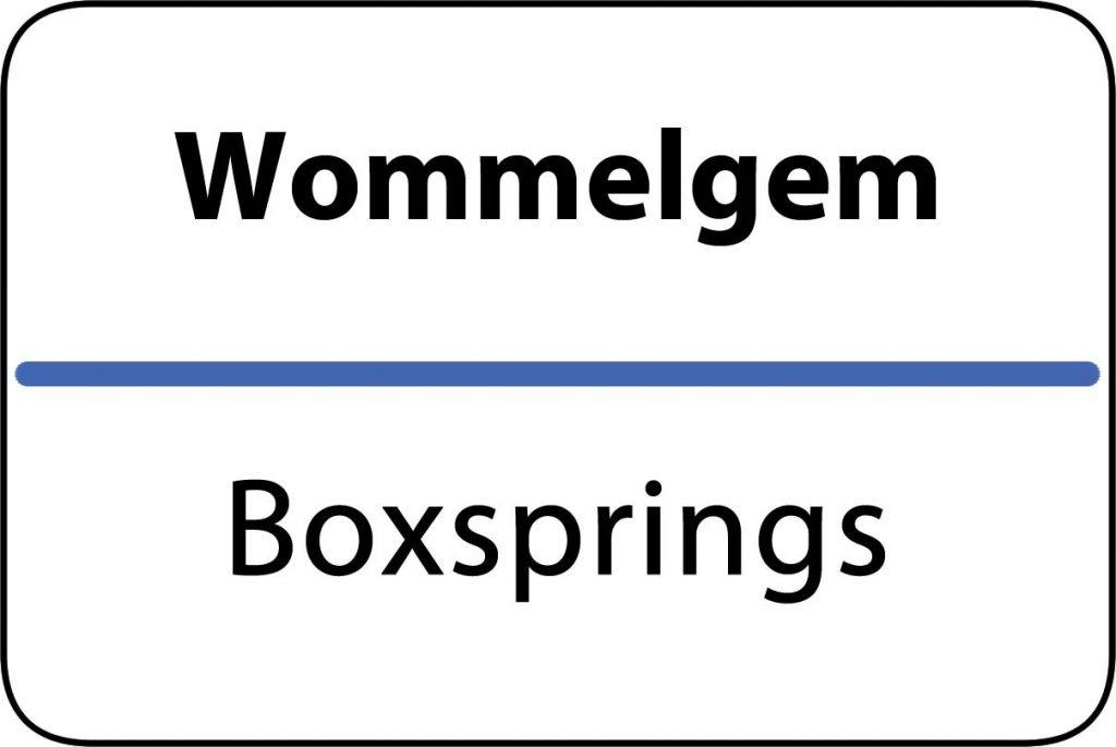 Boxsprings Wommelgem
