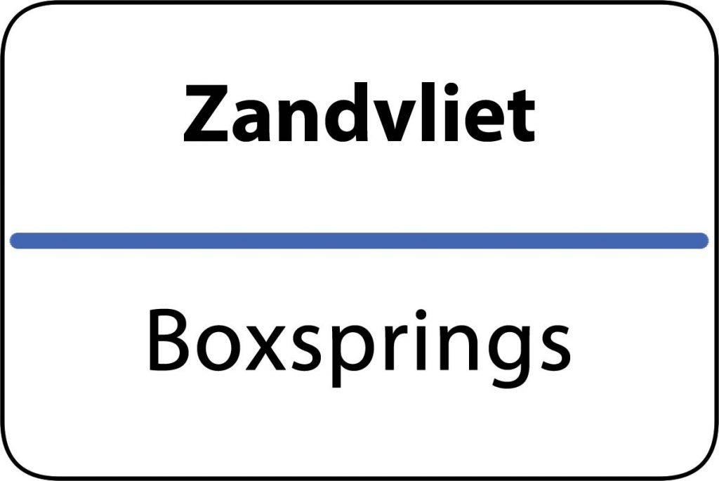 Boxsprings Zandvliet