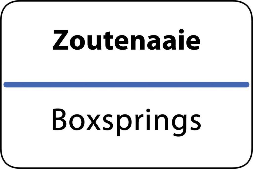 Boxsprings Zoutenaaie