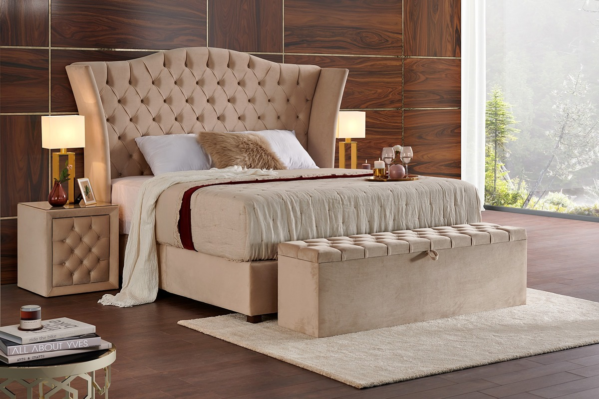hotel bed luxe boxspring